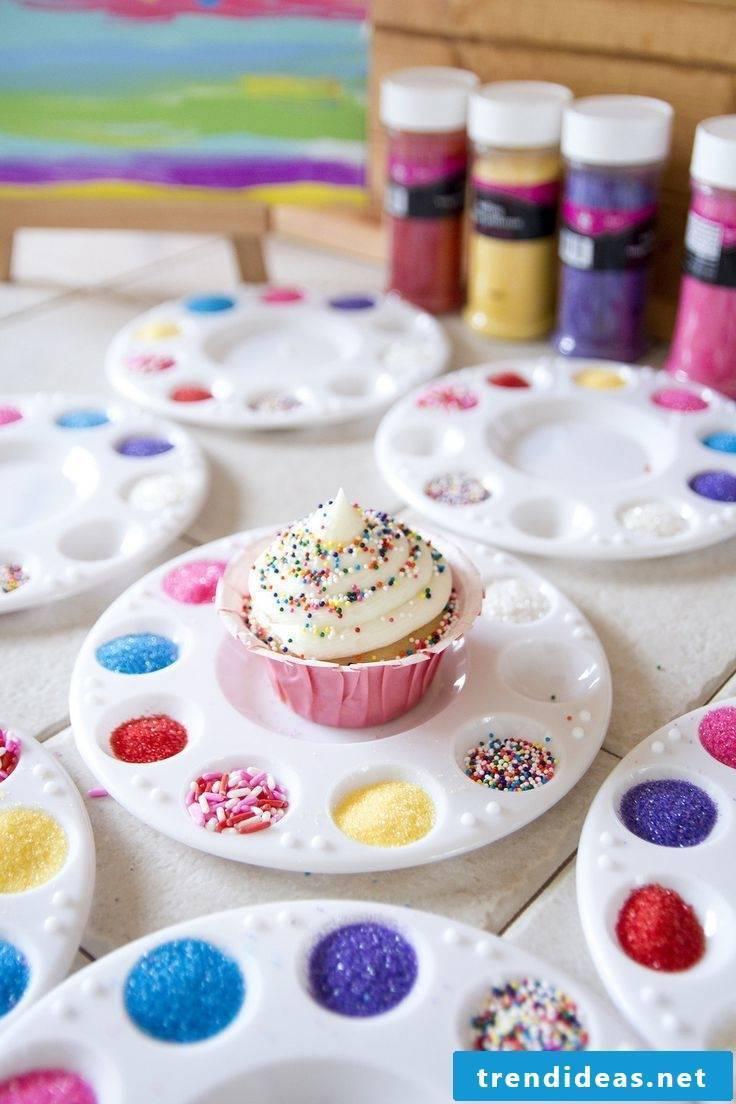 Decorating Cucake itself is a lot of fun