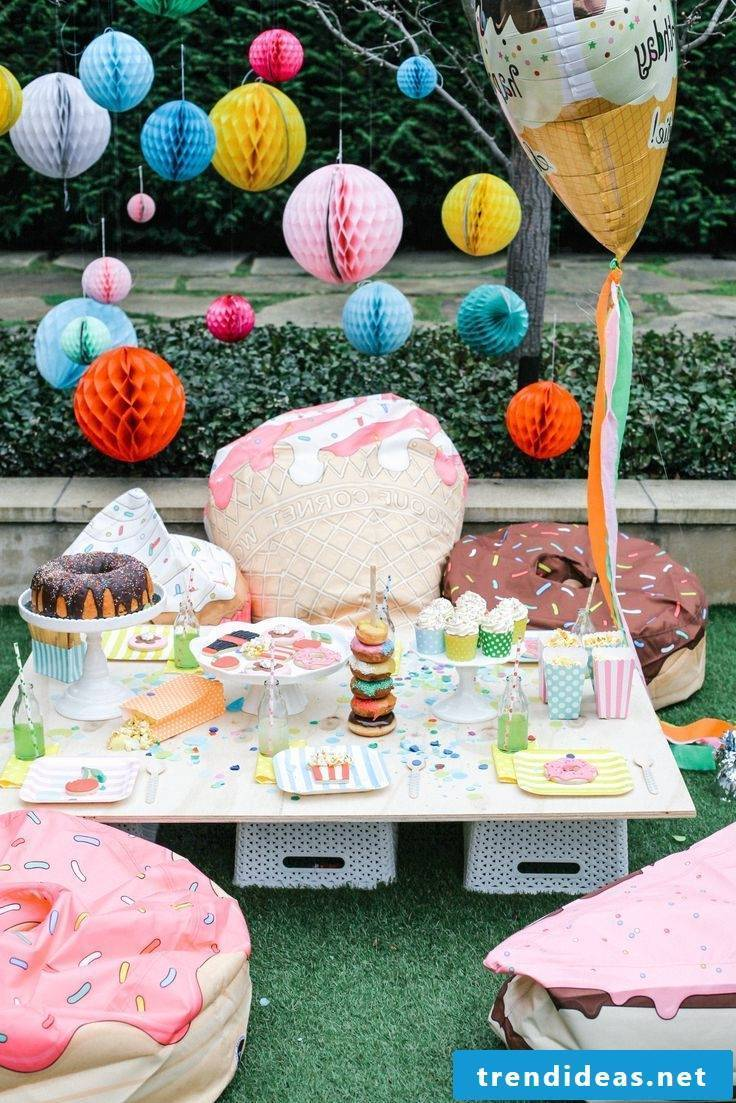A sweet party