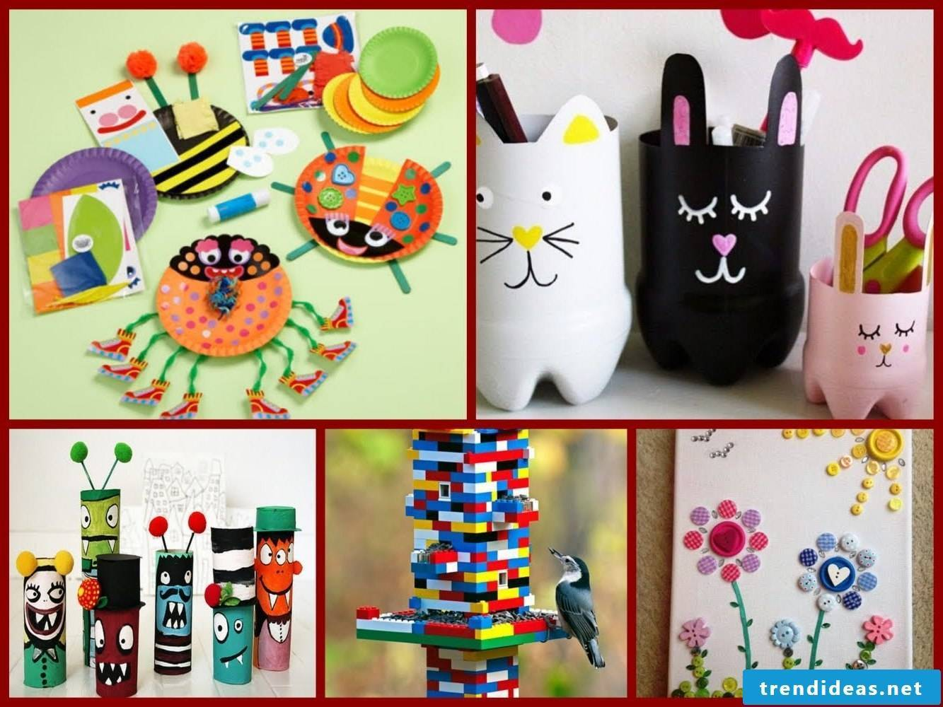 Craft Ideas for Kids Birthday Old Plastic Bottles