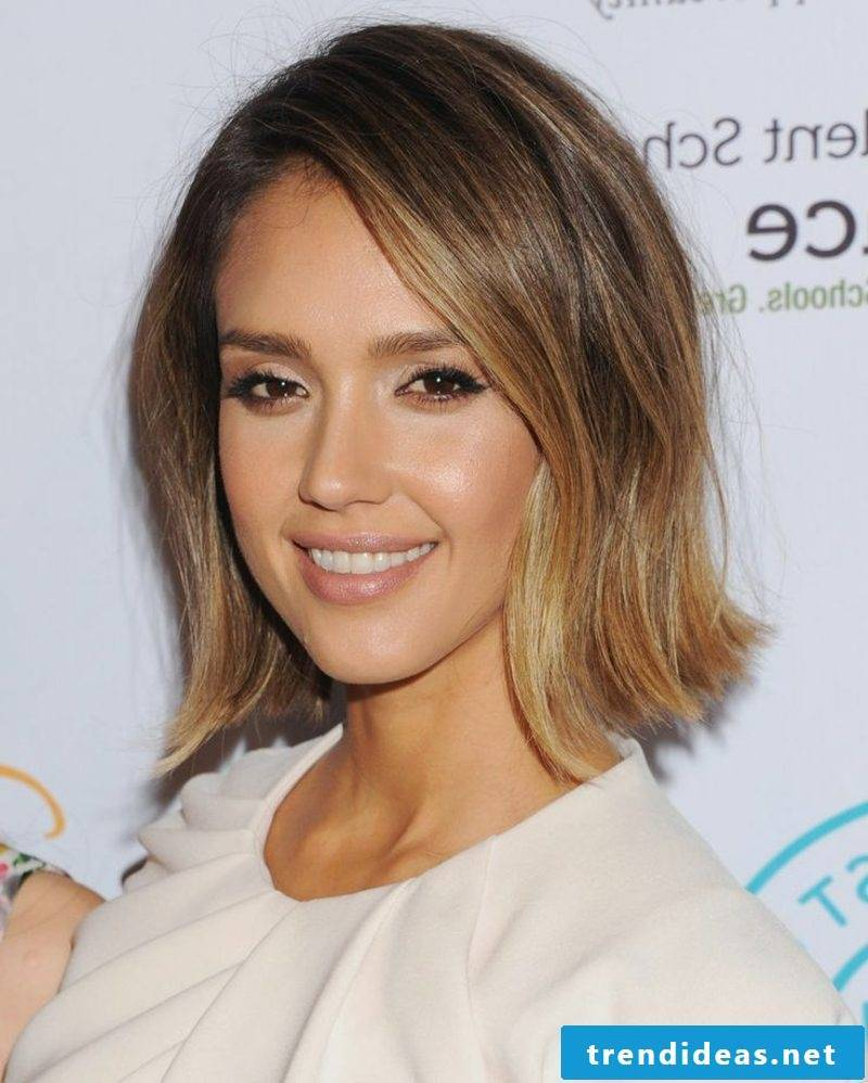 Hairstyles 2016 Long Hair Jessica Alba Long Bob