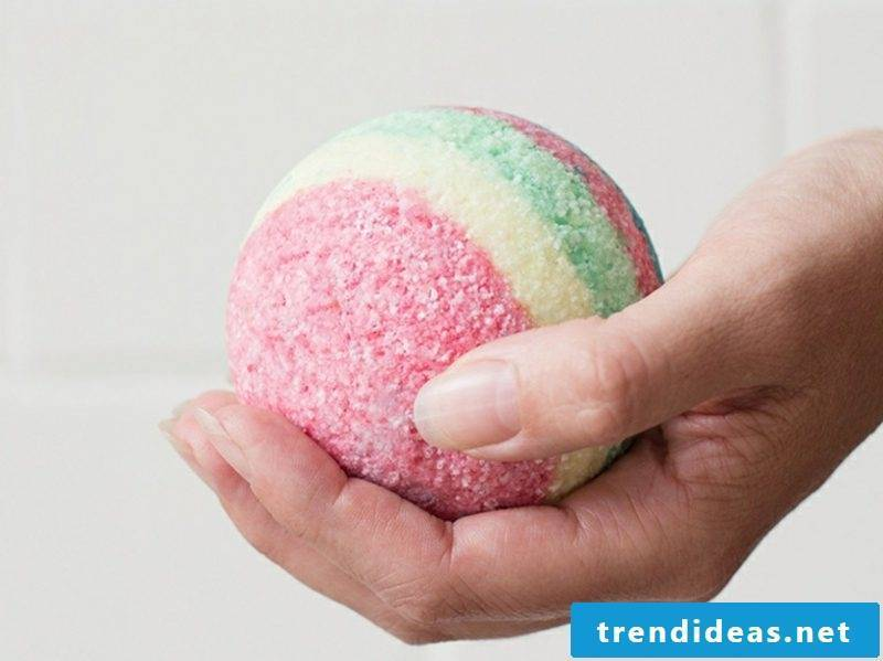 Bath additives themselves make ideas and inspirations