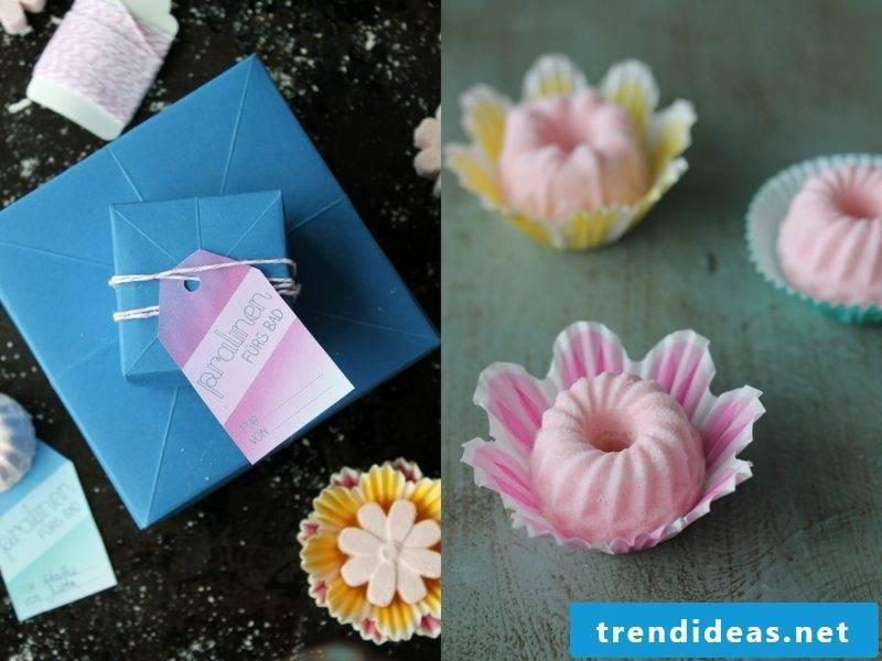 make creative DIY ideas bath additive yourself