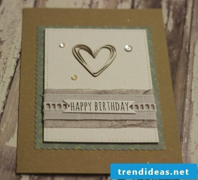 Vintage birthday cards