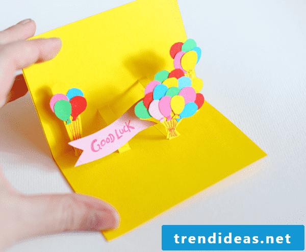 Birthday cards make tutorials