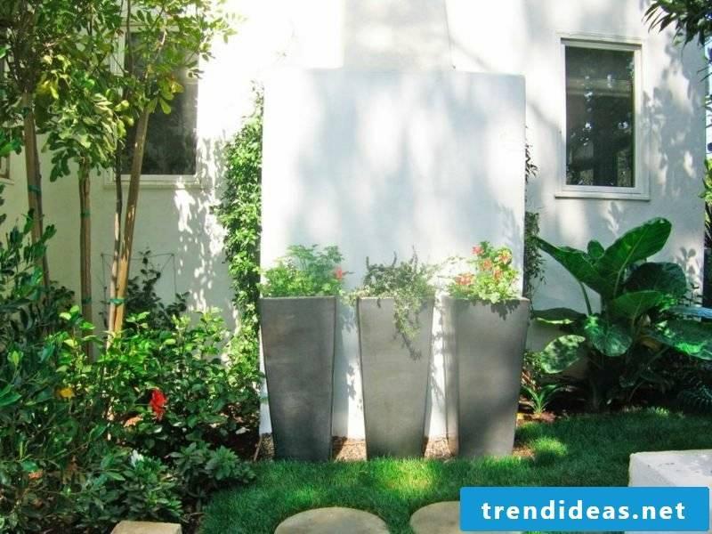 Concrete planters Big planters