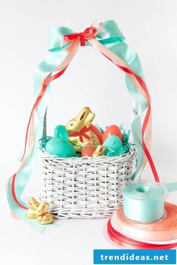 Easter baskets make DIY instructions