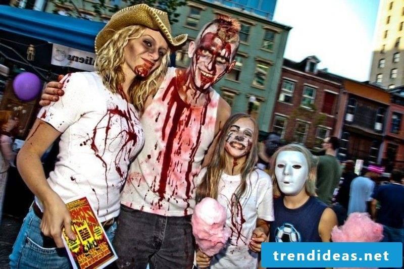Halloween costumes zombies