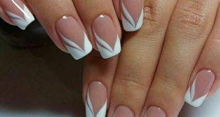 Make French Nails yourself: helpful tips + 30 charming ideas