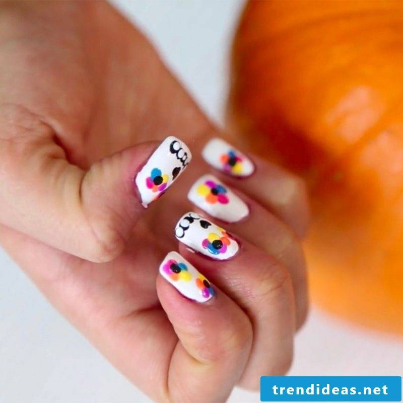 Halloween Nails Nail Art Do It Yourself