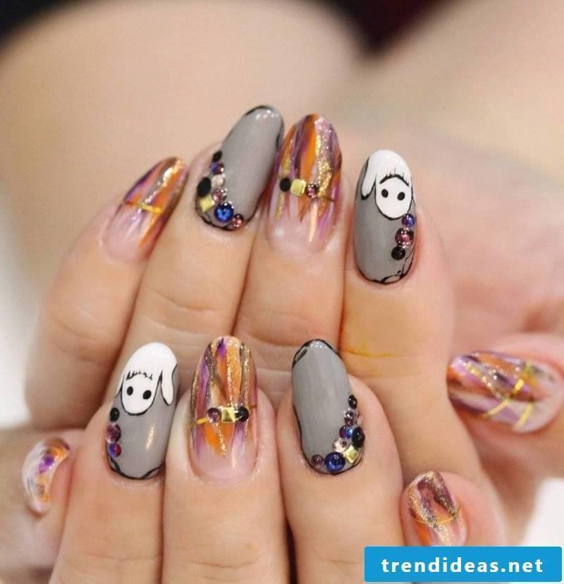 Halloween nails design ideas