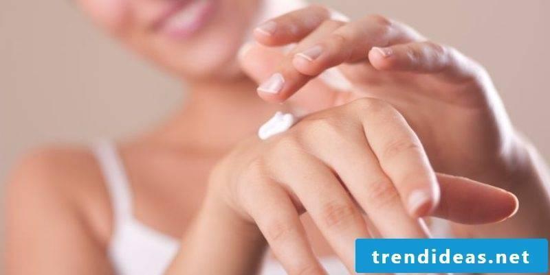 Hand cream itself make DIY ideas