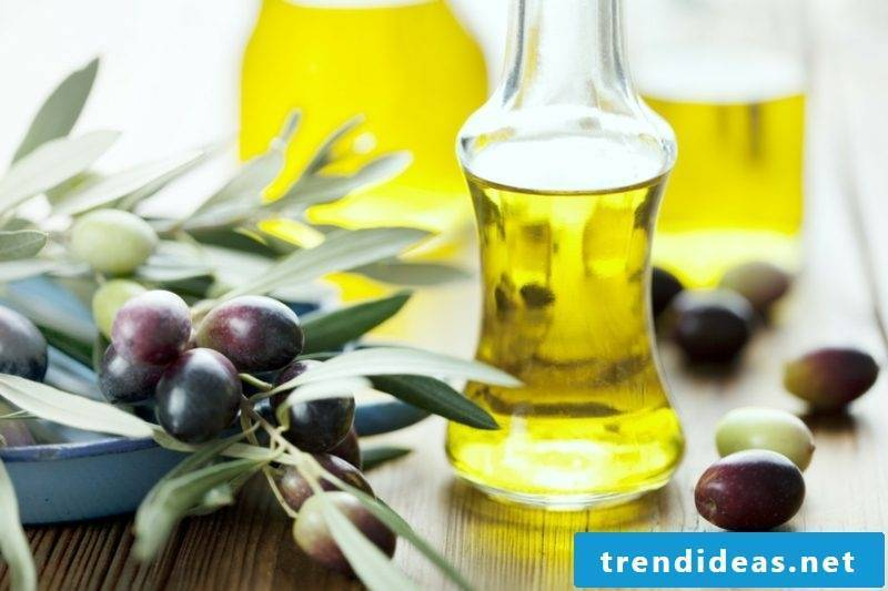 Olive oil ingredients hand cream creative DIY ideas