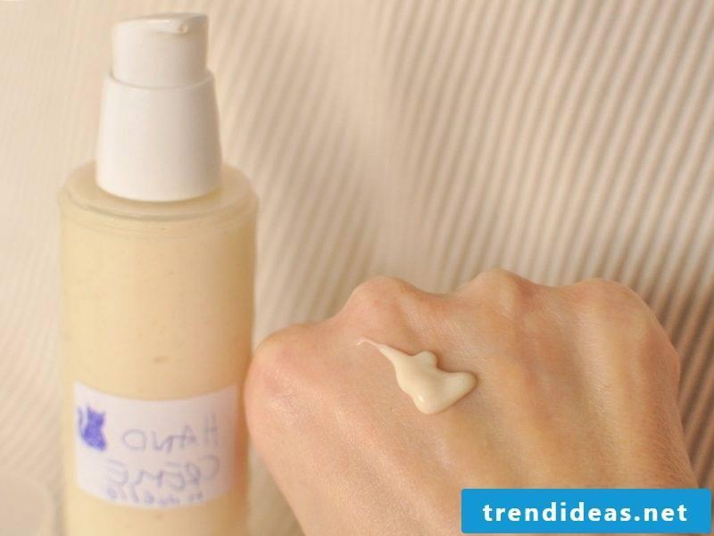 Hand cream homemade