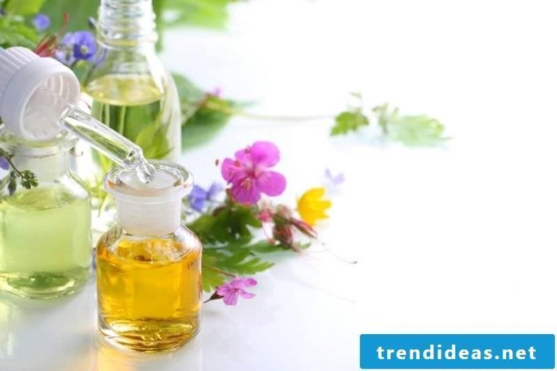 Hand cream itself make essential oils