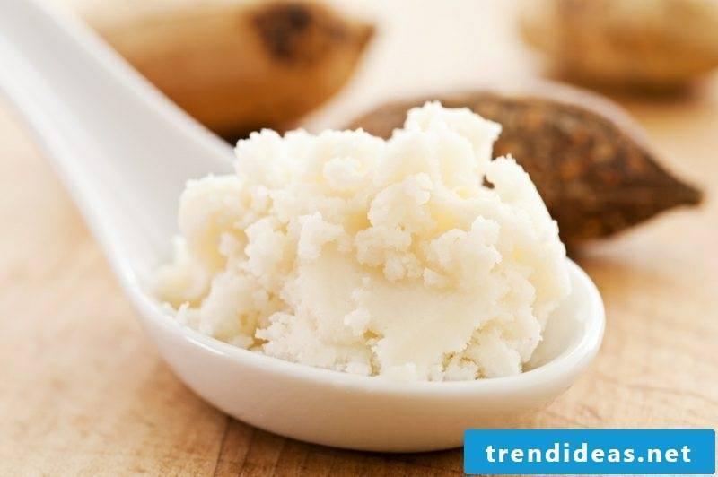 DIY hand cream from shea butter