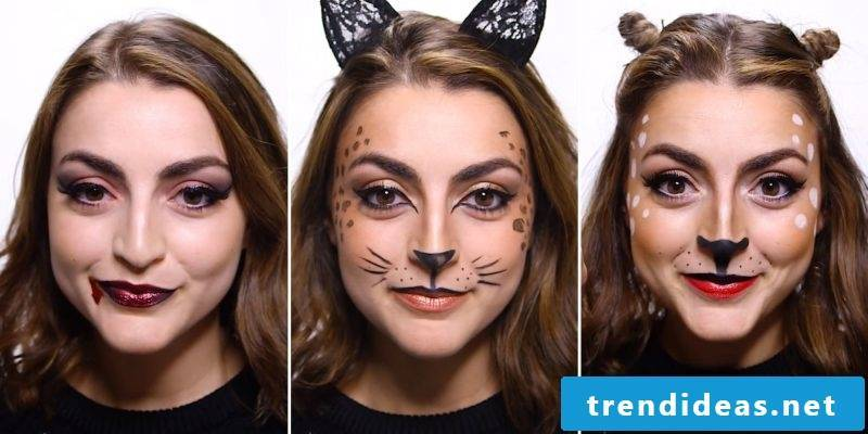 Make-up tips make last minute carnival costumes yourself