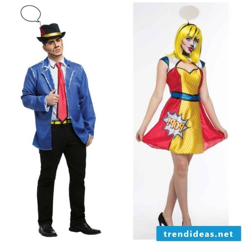 Make simple carnival costumes yourself