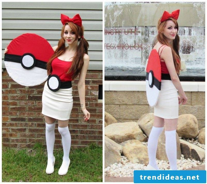 Make Pokemon carnival costume yourself