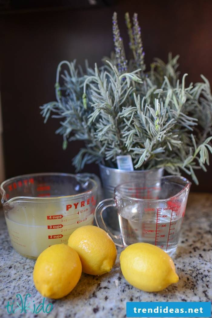 Make lavender lemonade yourself
