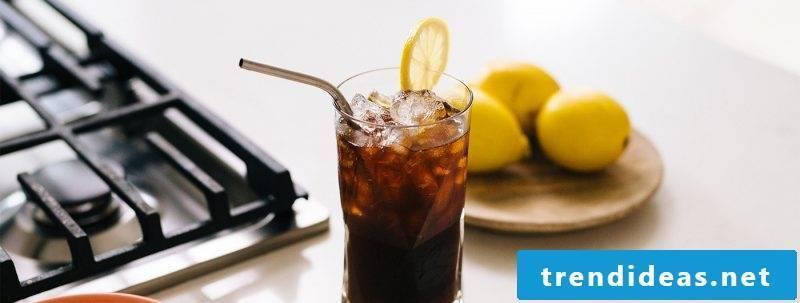 Make coffee lemonade yourself