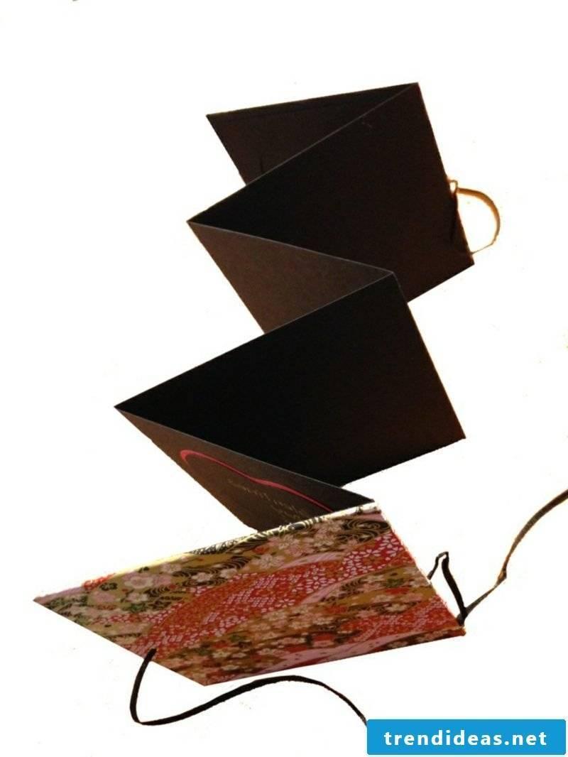 Leporello make photo paper