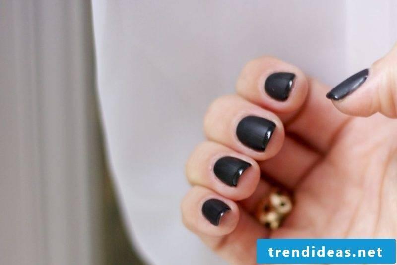 Nail art French Gloss Matt