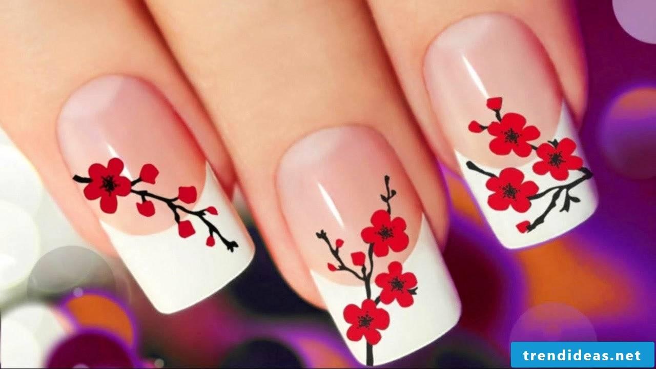 Japanese fingernail design - pattern