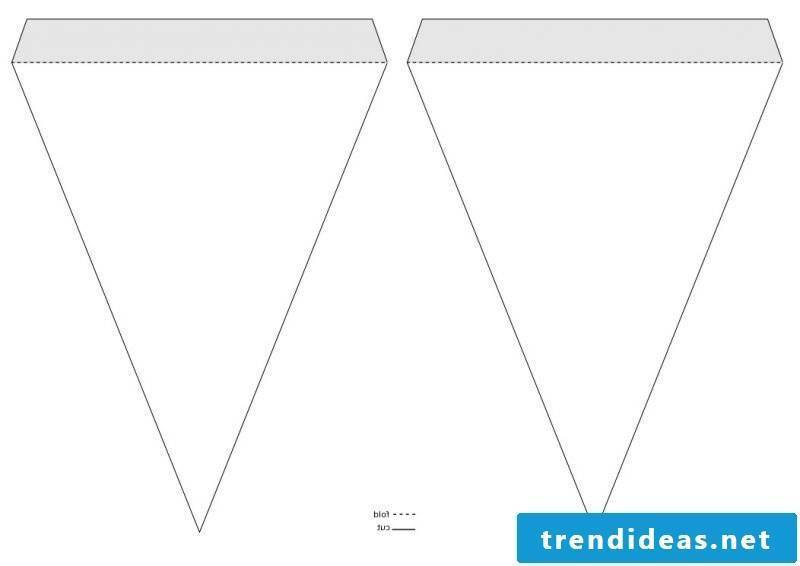 Make the pennant necklace yourself - free templates for printing