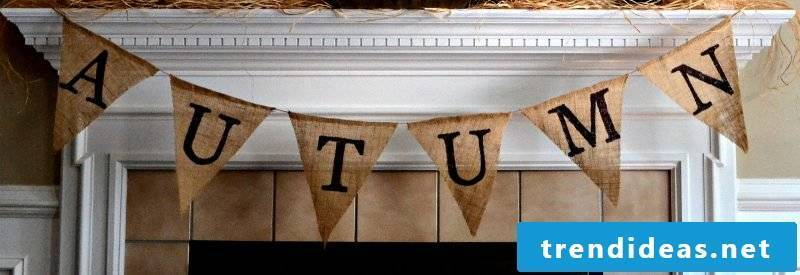 Make your own pennant necklace: bring a happy atmosphere at home