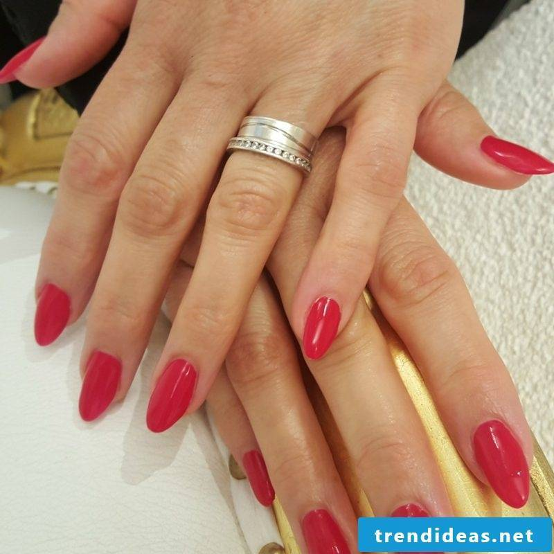 Gel nails Red ideas and inspirations