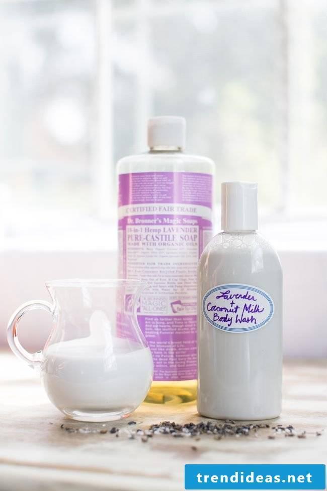 Make your own shower gel - Grapefruit Avocado Peeling DIY Instructions