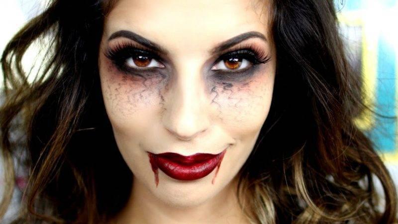 Make-up for halloween vampire make-up instructions