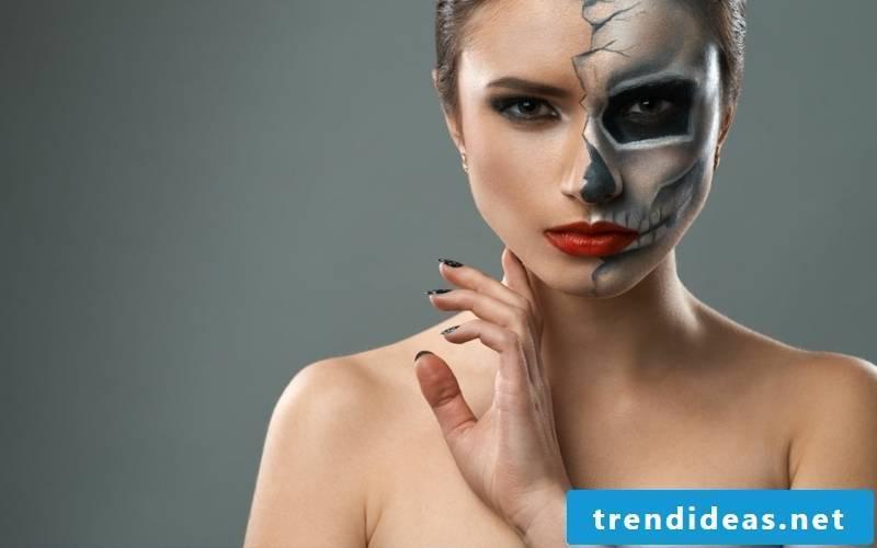 Make up Halloween tips and tricks