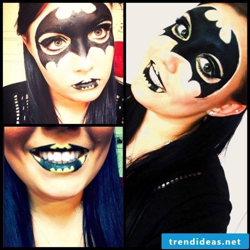 Bat make-up fascinating