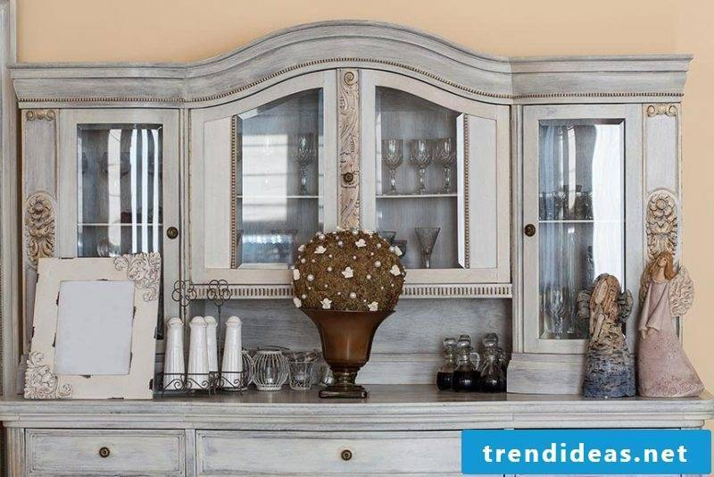 Vintage furniture candle wax living wall build yourself