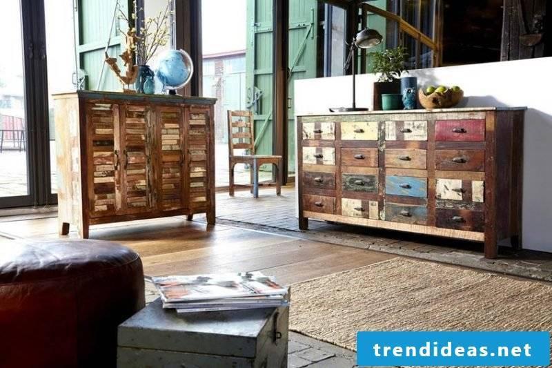Retro furniture itself makes the best DIY ideas