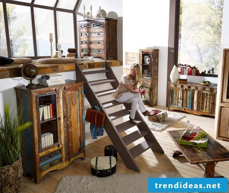 Shabby furniture modern decor