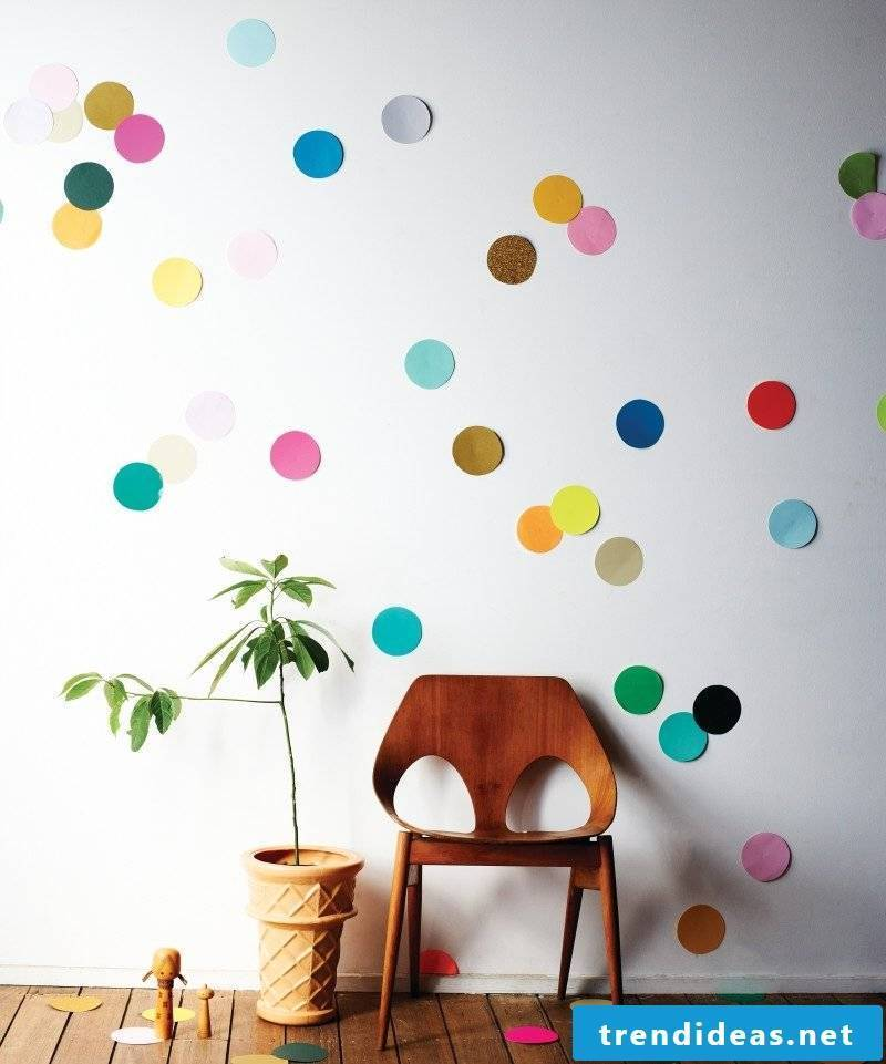 Make wall tattoo yourself: The creative ideas can be inexpensive