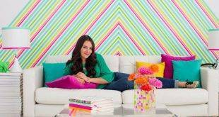 Make walls with Washi Tape tape