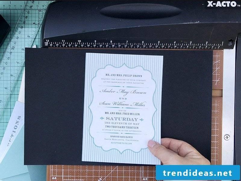 Great DIY Ideas for Wedding Card Crafting