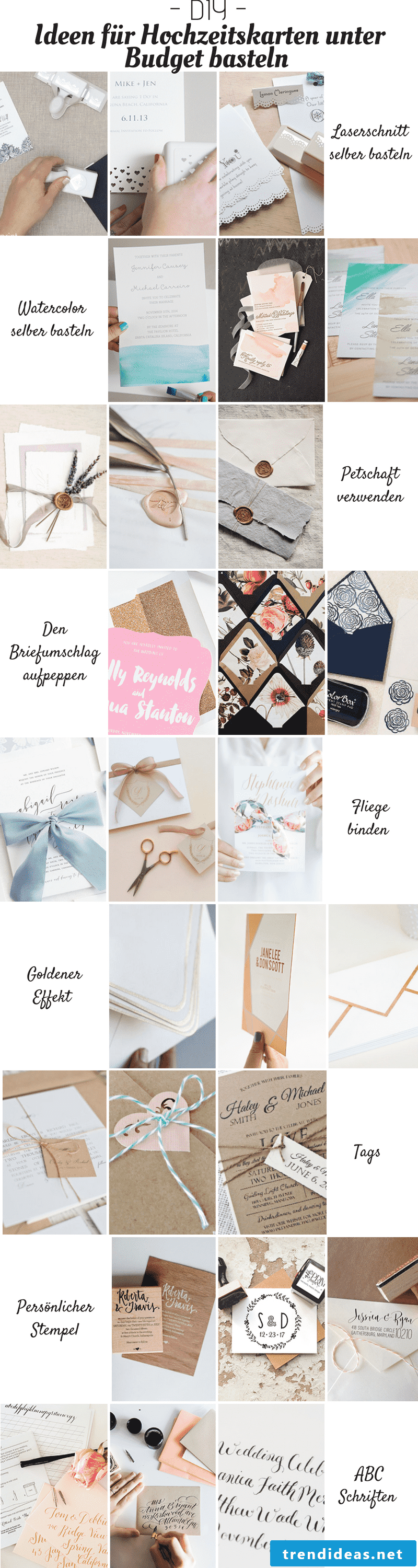 Ideas for a unique wedding card crafting under budget