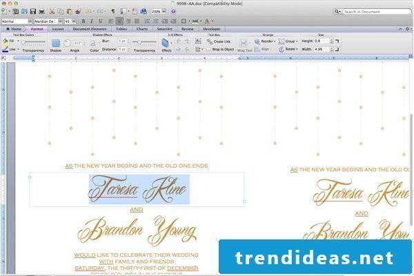 Make online wedding cards yourself