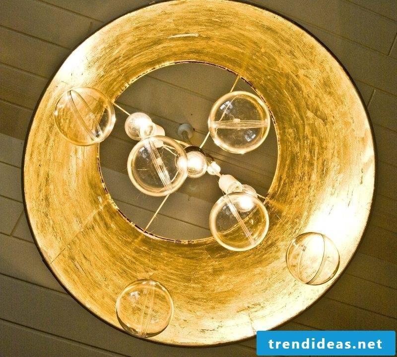 Build chandelier yourself