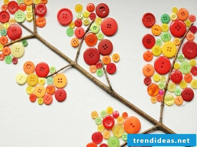 Herbstdeko itself make creative ideas