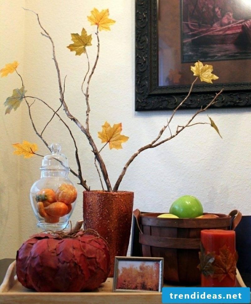 Autumn decoration creative DIY ideas