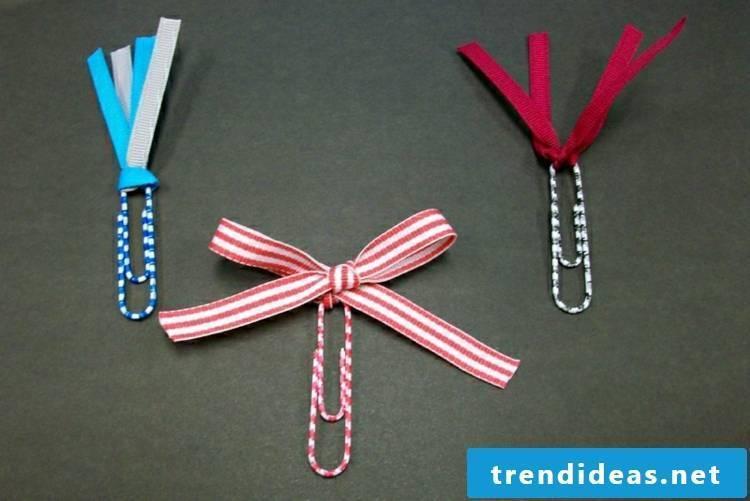 Make bookmarks Kalmmern loops