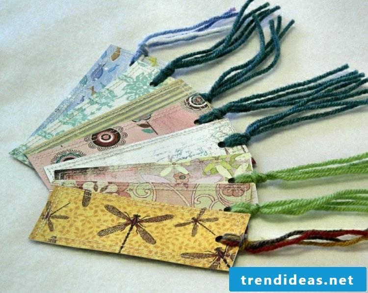 Bookmarks make creative ideas