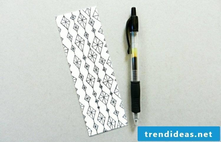 Make Bookmarks Tinker Geometric Patterns