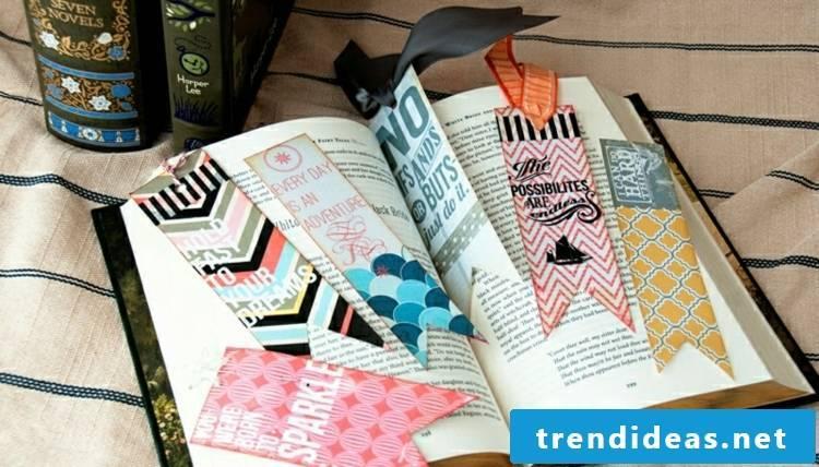 make original bookmark DIY