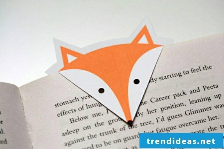 Bookmark craft fox original look